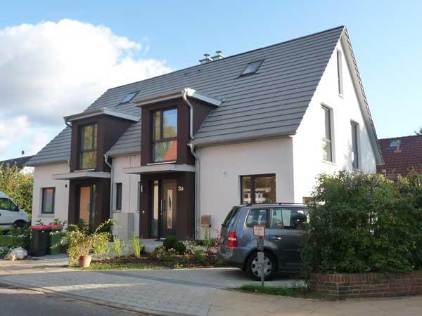Doppelhaus bauen | Bauunternehmen